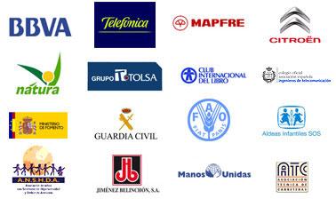 - Logos
